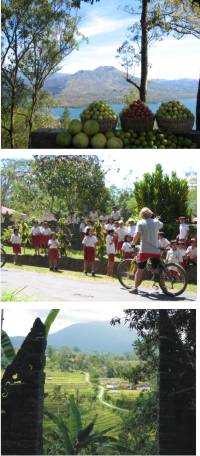 Biking in Kintamani with Archipelago Adventure