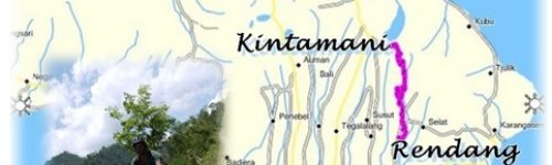 Kintamani Rendang map 2020