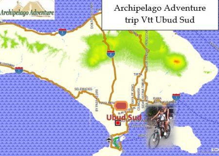 Ubud Sud Map